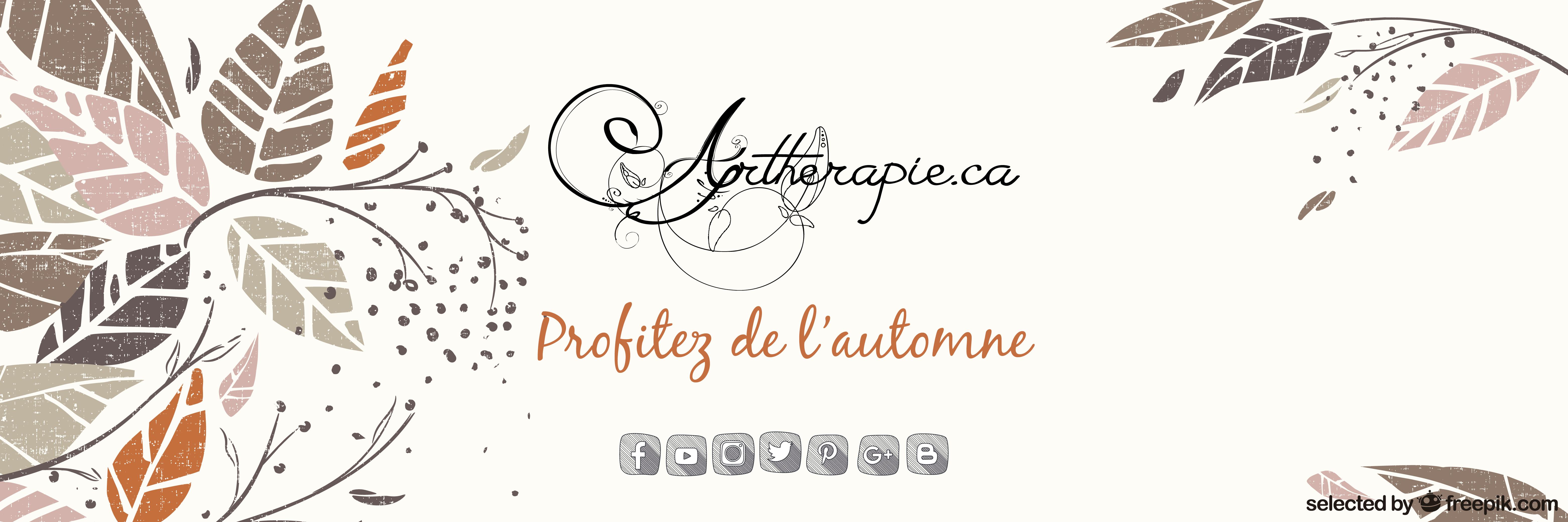 Artherapie.ca vous souhaite de profiter de l'automne