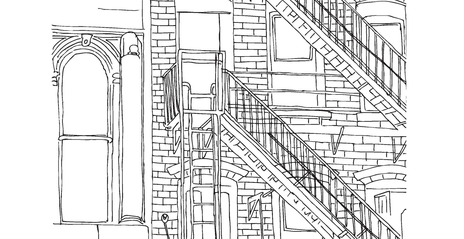 Architecture Coloriage Gratuit Du 25 Avril