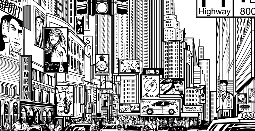 Elegant Coloriage New York Luxe Coloriage New York Dessin