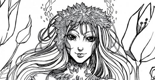 Coloriage gratuit par Dar-Chan, Poison Ivy