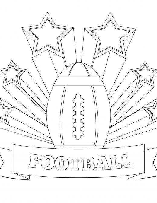 Coloriage de Michigan state football