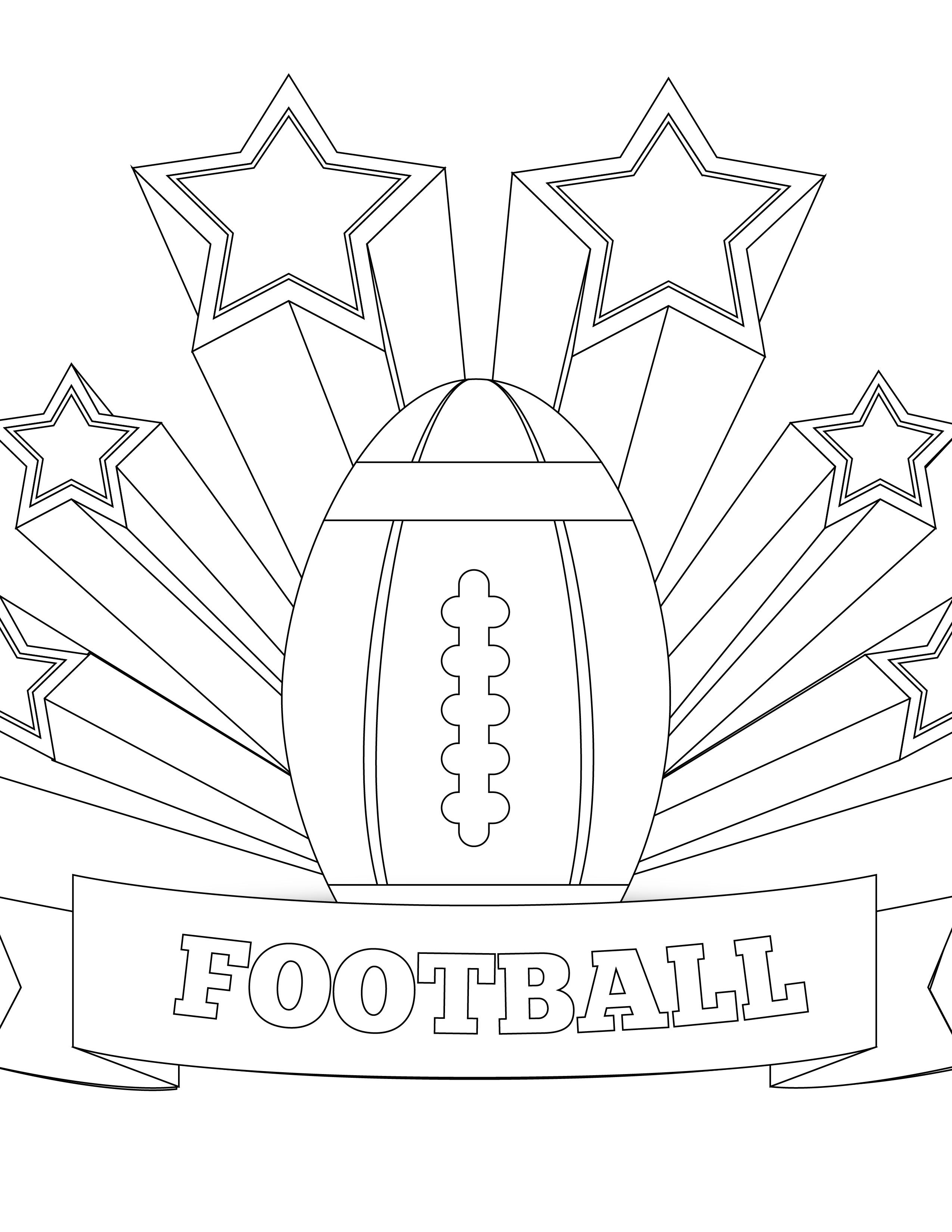 Coloriage de michigan state football - Dessin football americain ...