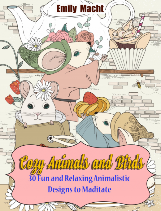 Cozy animals and birds par Emily Macht