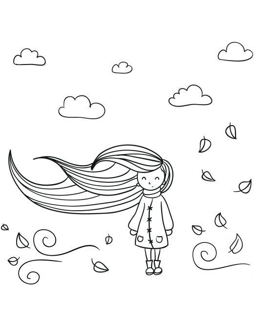 automne mignon personnage dessin gratuit