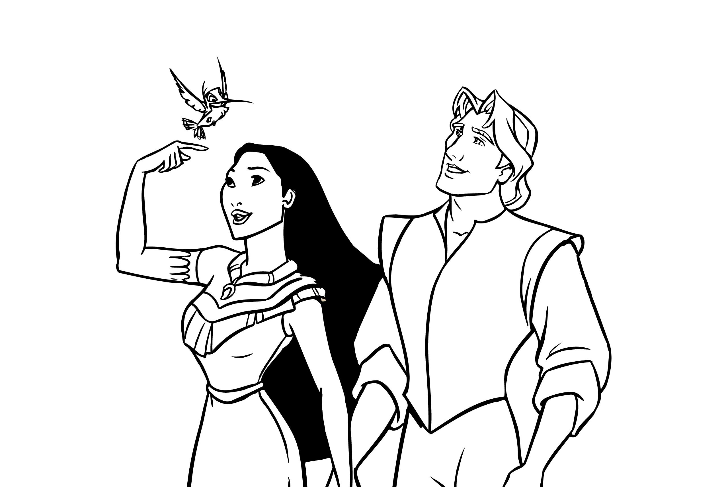 Artherapie coloriage gratuit vectorhq disney princesse pocahontas tumb