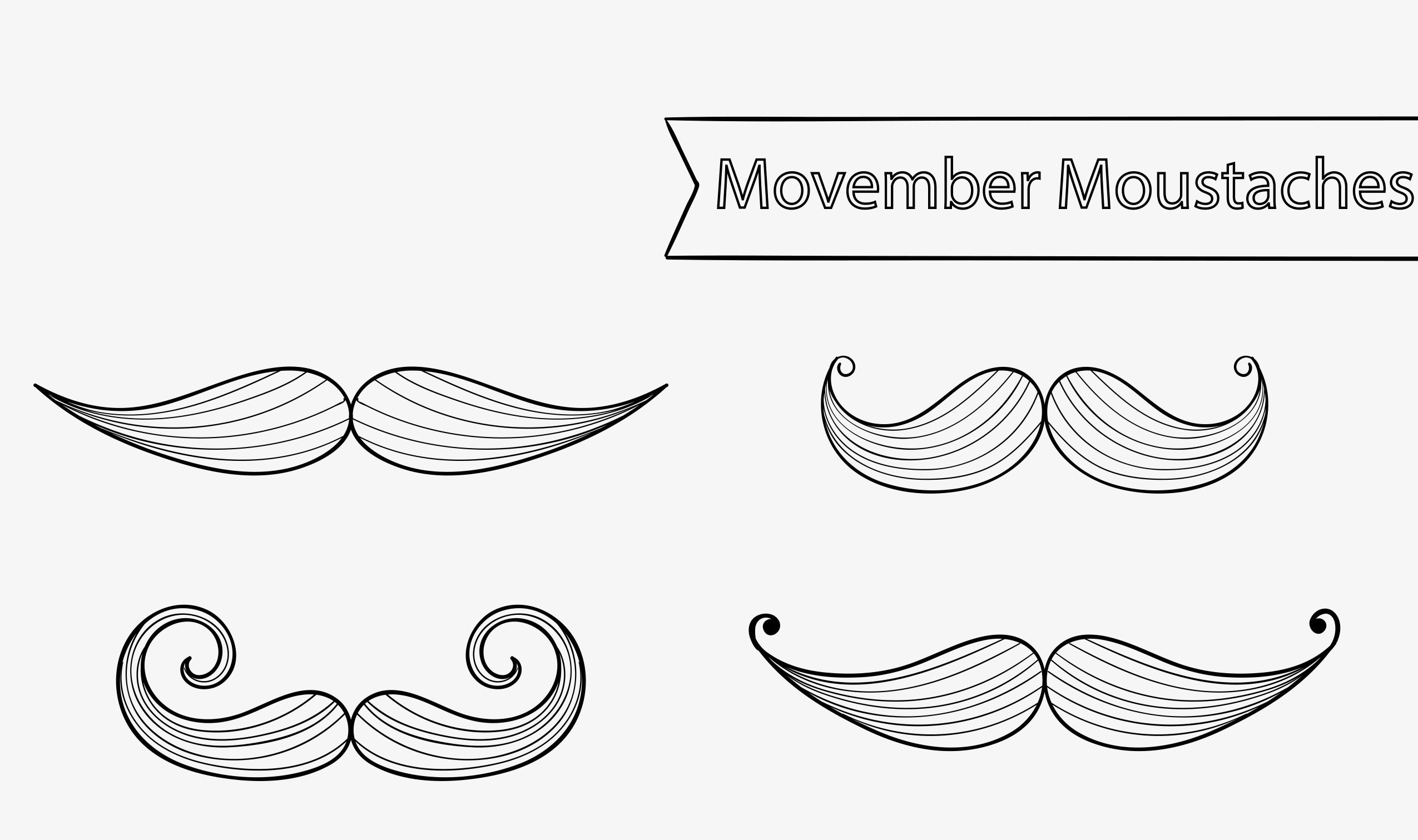 Moustache movember canada en novembre - Dessin de moustache ...