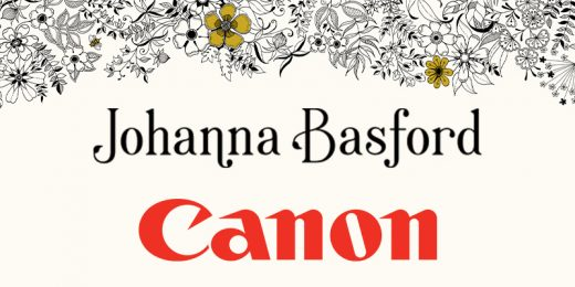 Canon introduit des exclusivitées par Johanna Basford
