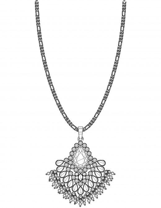 collier pendentif diamant gratuit à imprimer