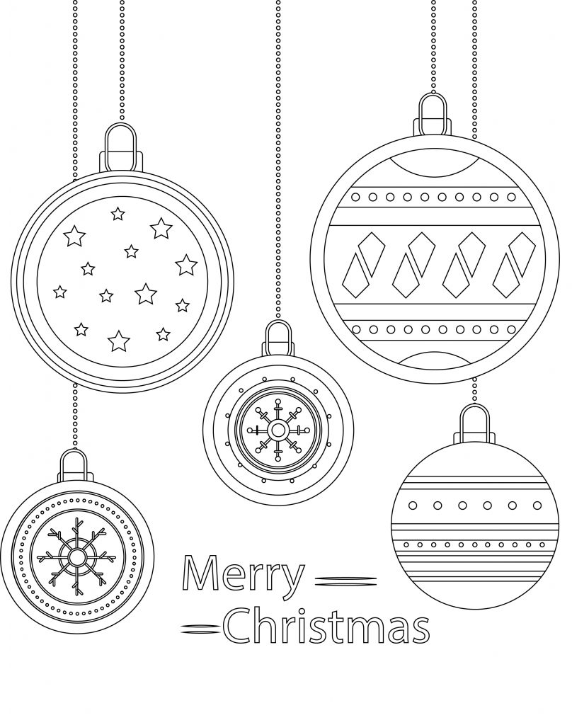 Dessin Boule De Noel.Image Noël Coloriage à Imprimer Boule Noel Artherapie Ca