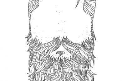 coloriage beard november prostate cancer
