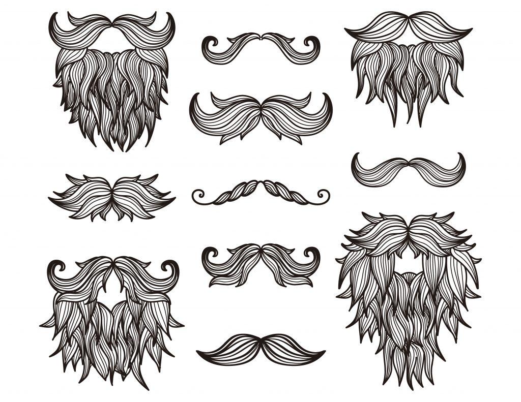 November movember canada dessin colorier - Dessin de moustache ...