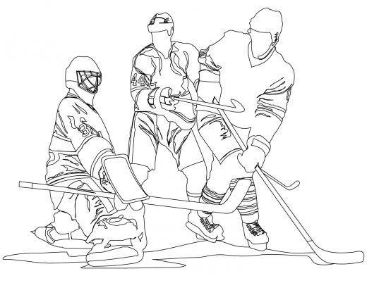 Joueurs hockey Ottawa Senateur à imprimer