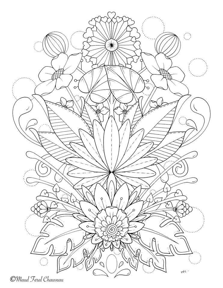 Bouquet de fleurs du printemps par Maud Feral - Artherapie.ca