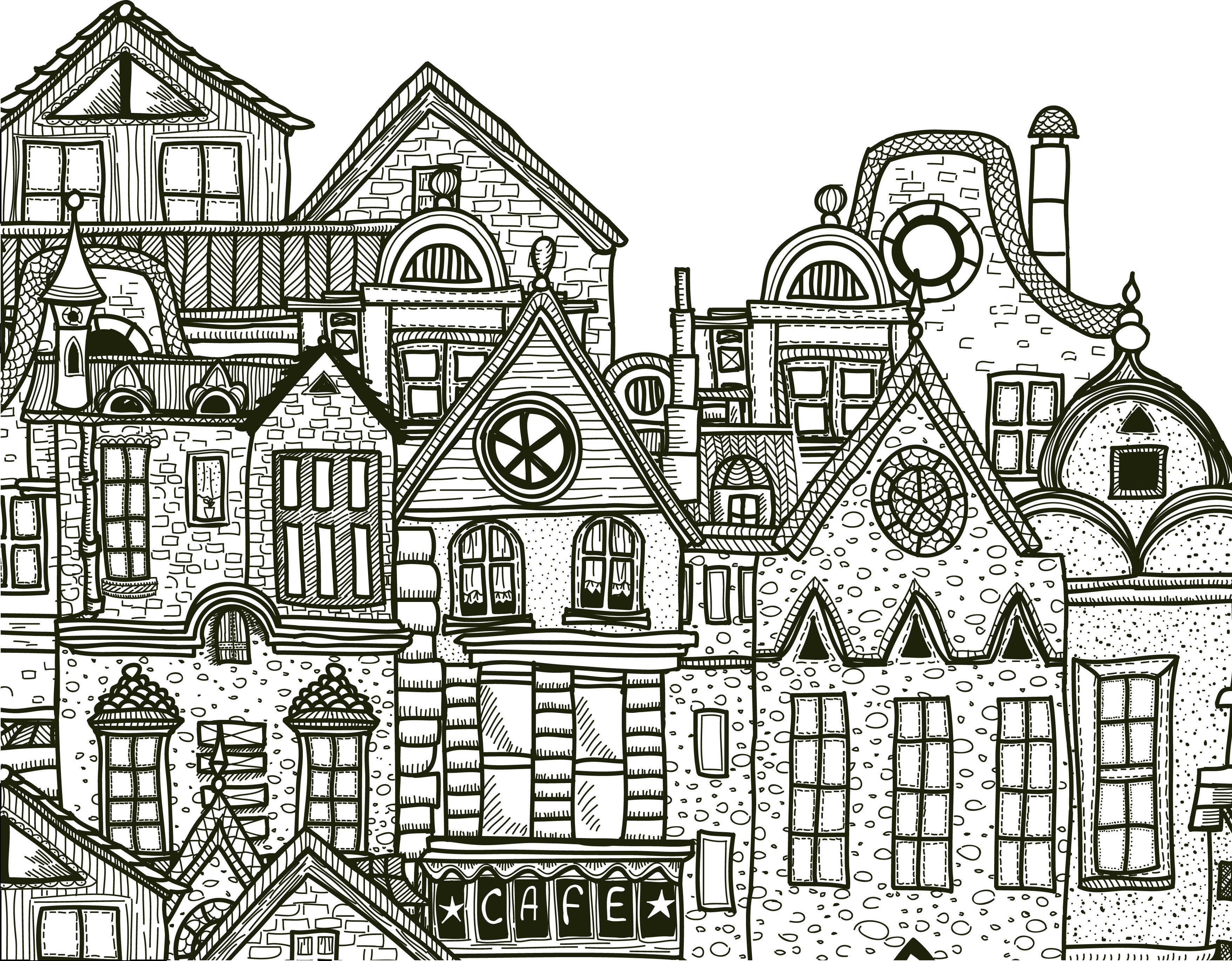 Ville d taill e imprimer et colorier gratuit - Site de coloriage gratuit ...