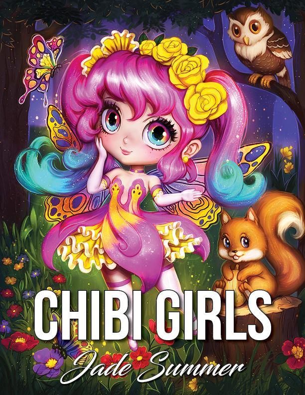 Dessin Chibi girl gratuit par Jade Summer