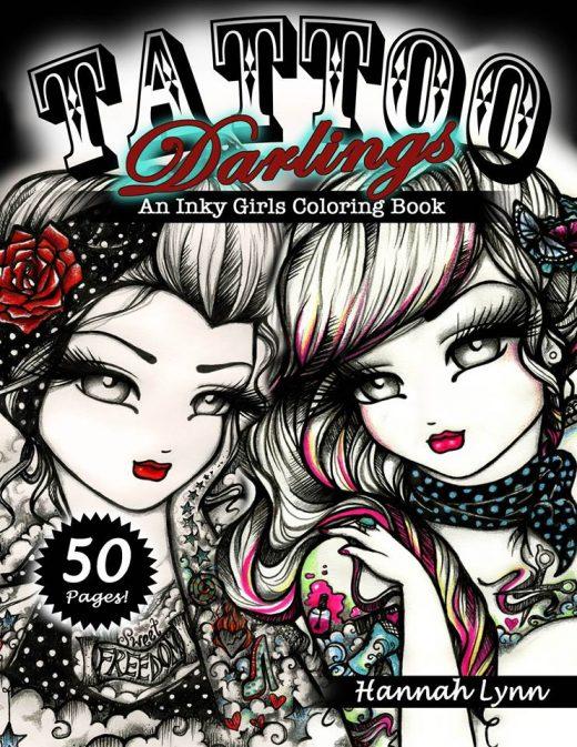 Une page gratuite du livre Tattoo Darling sortie le 5 juillet