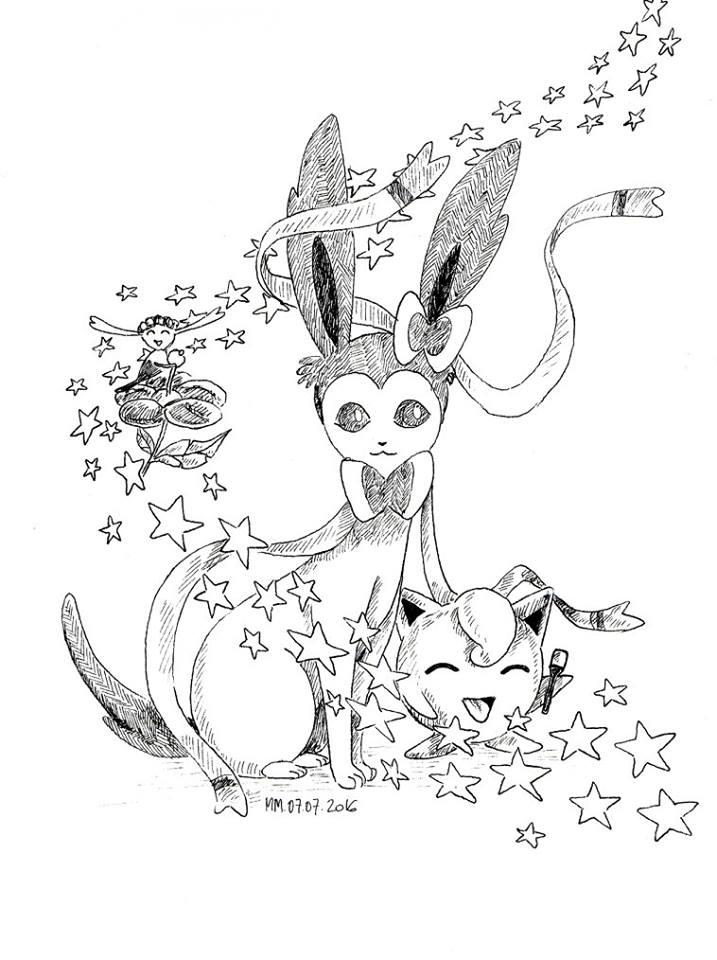 Impression dessin de pokemon gratuit par Maud-Marie