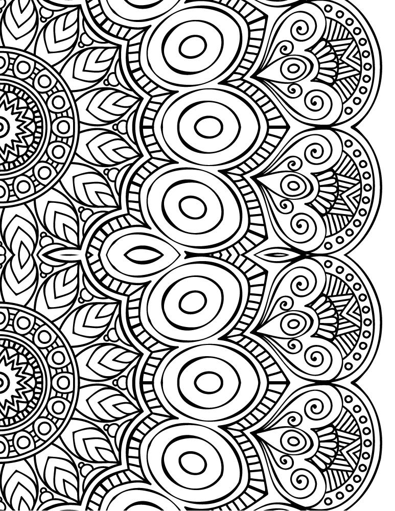 Dessin a imprimer de mandala colorier gratuit - Dessins de mandala ...