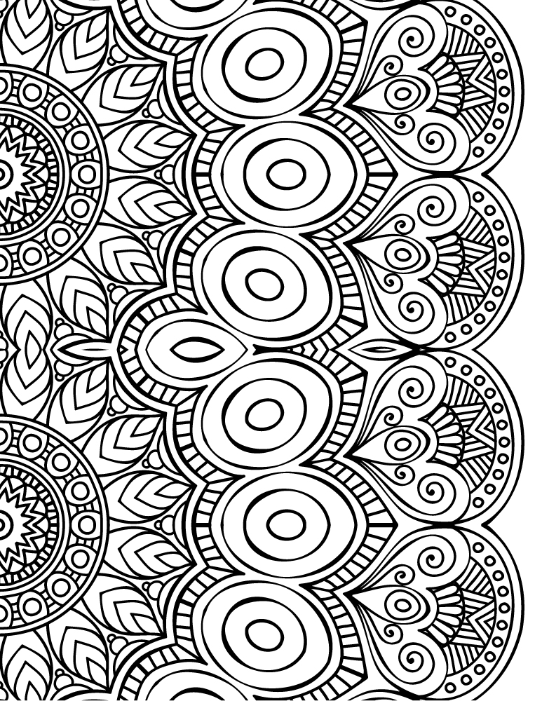 dessin a imprimer de mandala a colorier gratuit