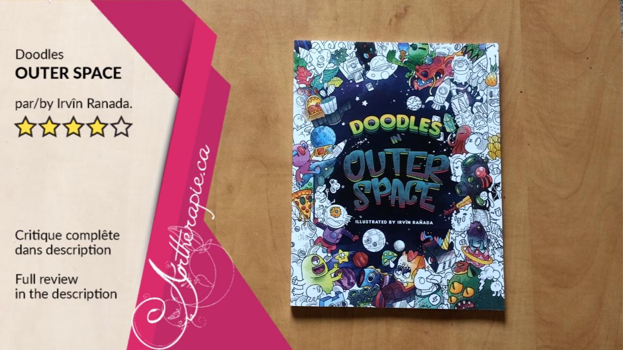 Critique du livre Doodles Outer Space par Irvin Ranada OkamiBooks