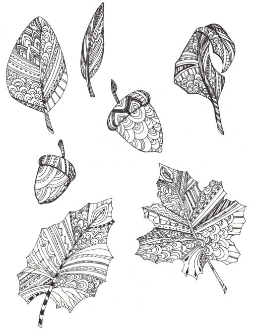 Imprimer des coloriages feuilles automne gratuit