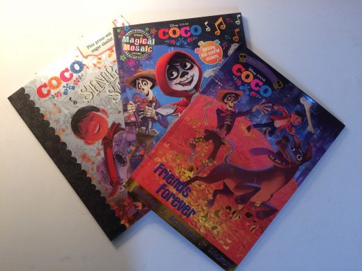 Critique livres d'activités pour enfants film Disney Pixar Coco