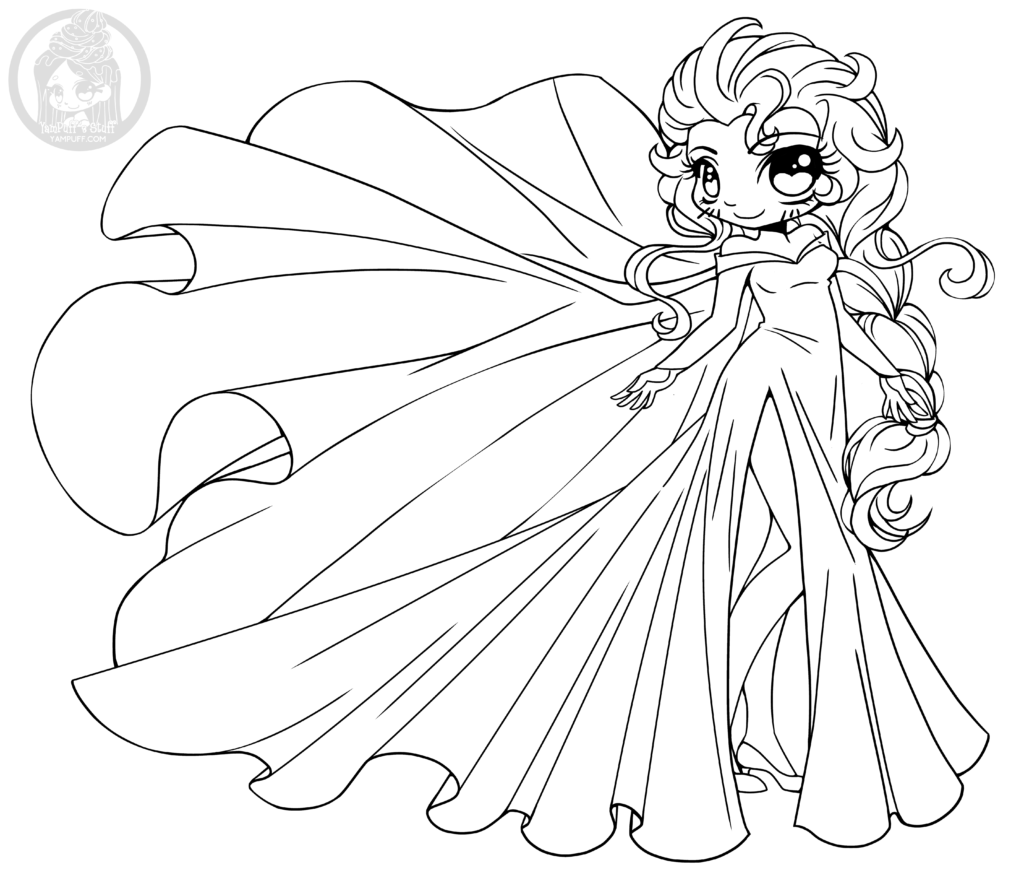 disney chibis coloring pages - photo#9