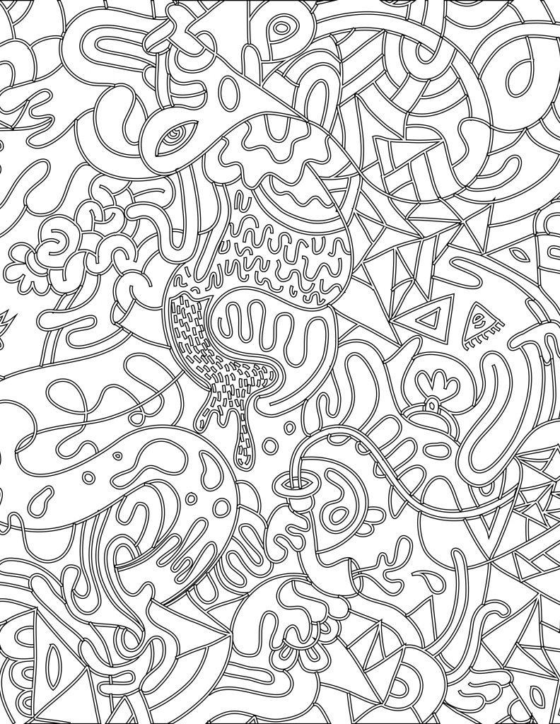 Doodle coloriage magique imprimer pour adulte - Coloriage magique pour adulte a imprimer ...