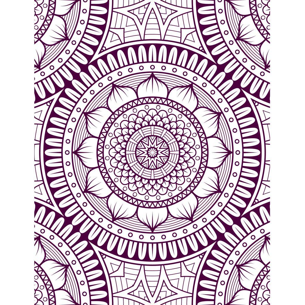 Mandalas difficile à colorier gratuit - Artherapie.ca